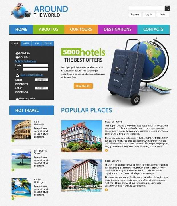 Affiliate Website Template. download landing page design templates ...