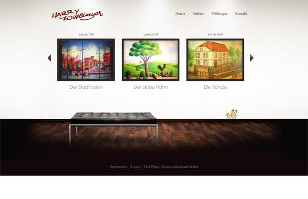 horizontal websites