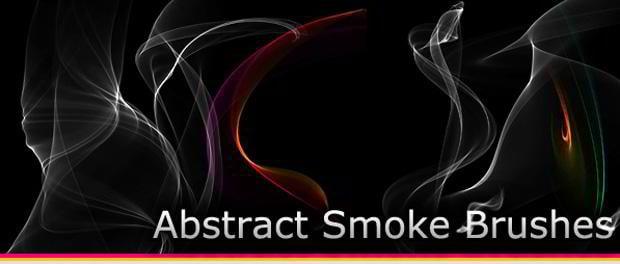 free smoke brush set photoshop