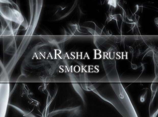 smoke photoshop brushes sets