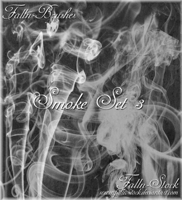 smoke photoshop brushes set