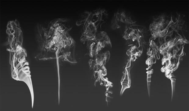 50 Free Smoke Brushes For Photoshop