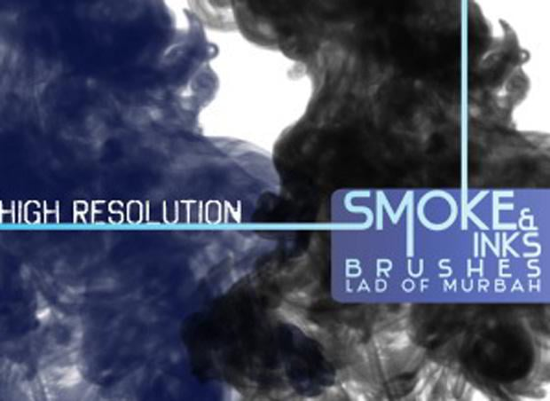 smoke photoshop brushes set