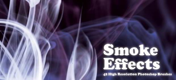 free smoke brush set photoshop