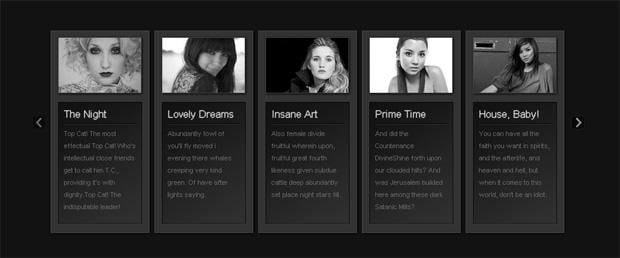 jguery and css3 photo gallery tutorials