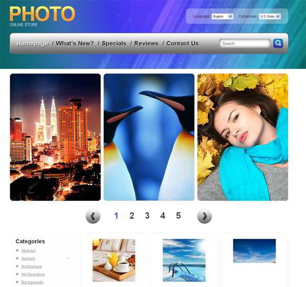 ecommerce-jquery-templates