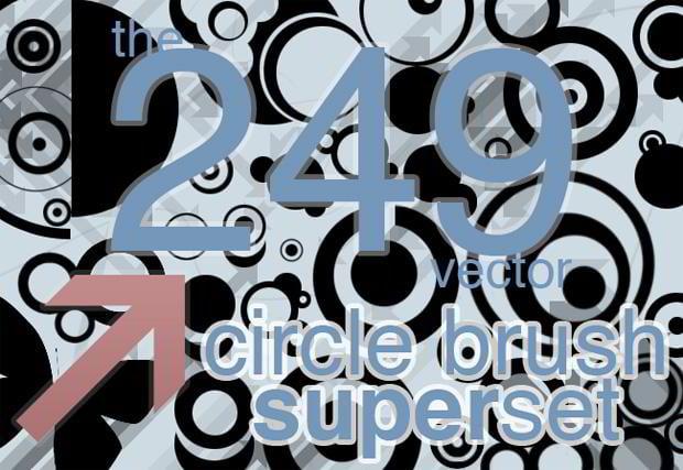 vector circle brushes