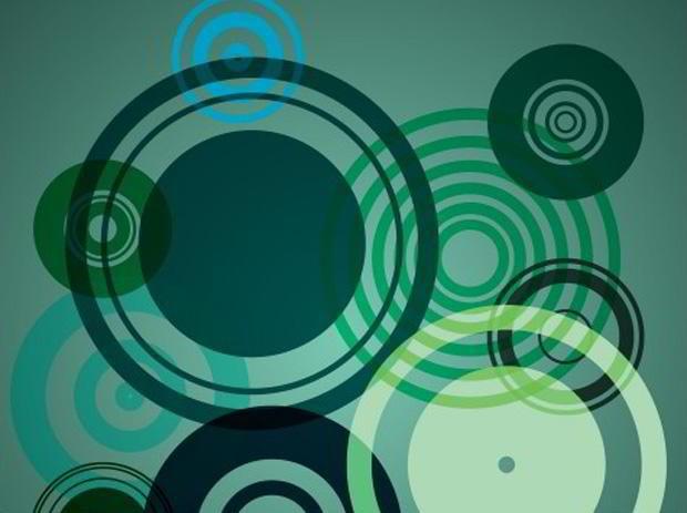 retro circles photoshop brushes