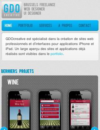 mobile web design trends