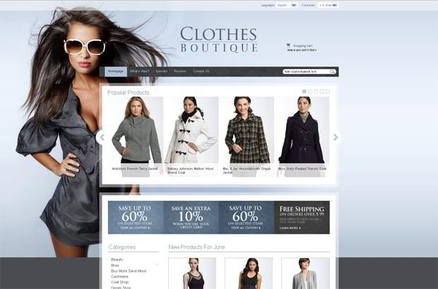 40 Catchy Photo-Based Website Templates - MonsterPost
