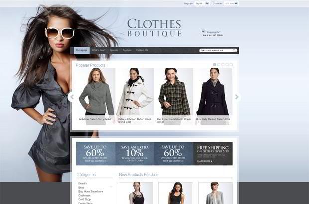 baby bliss pre designed boutique website by ezboutique web design