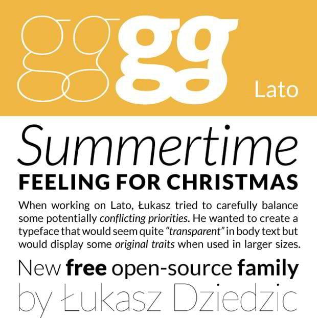 free sans serif fonts 2011