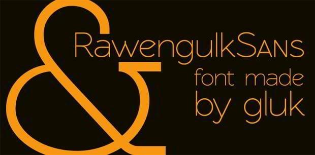 new free sans serif fonts
