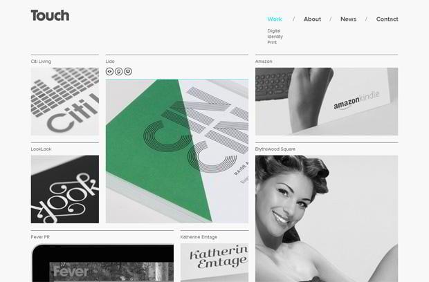 grid based web designs