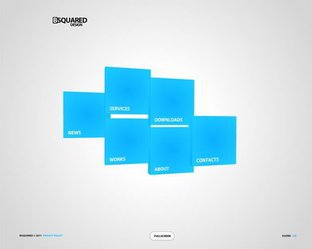 symmetrical web designs