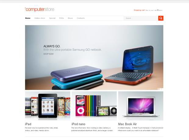virtuemart ecommerce themes