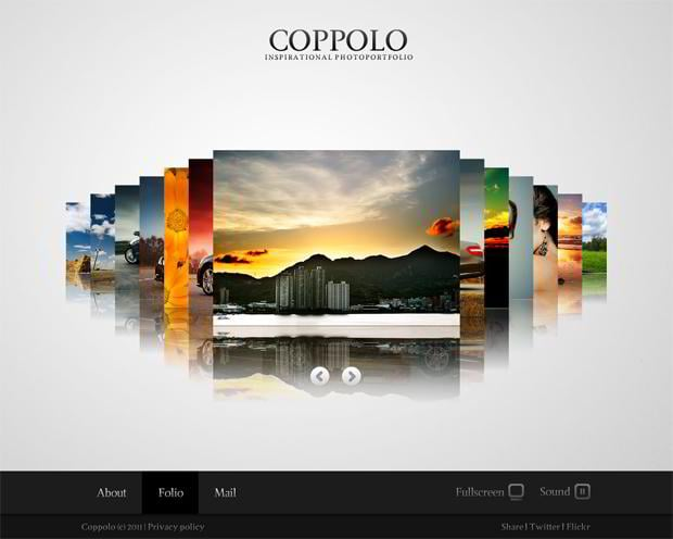 symmetrical website templates