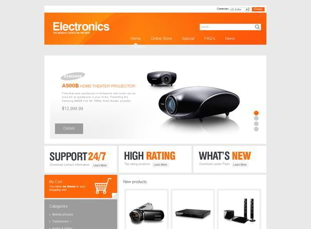 virtuemart ecommerce shopping cart