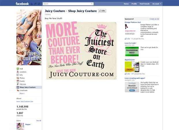 facebook ecommerce stores