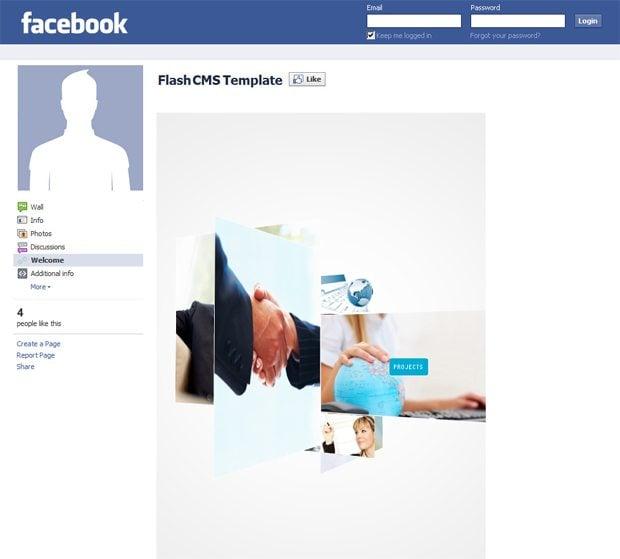 corporate facebook templates
