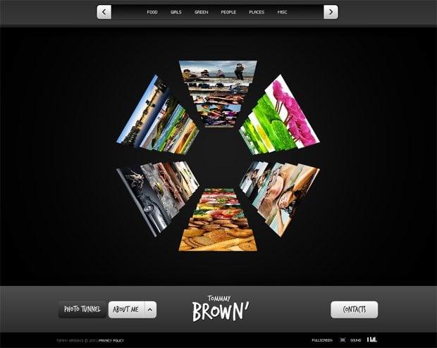 symmetrical web template