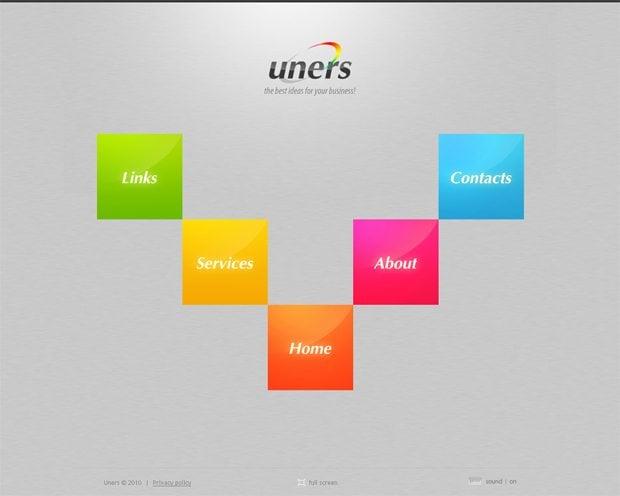 symmetrical web design