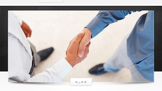 slider web template
