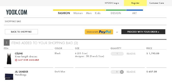 40 best html shopping cart page designs 2 ae pronofoot35fo Gallery