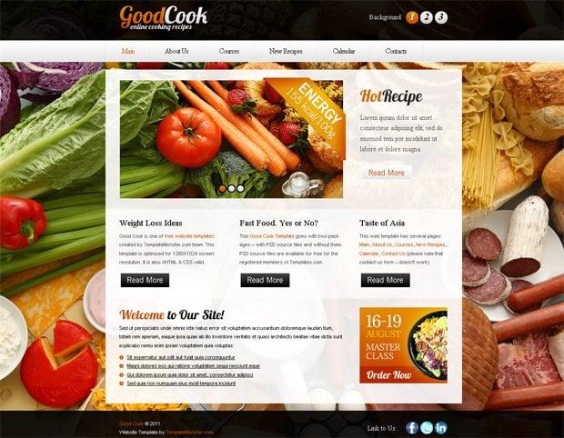 website slideshow template