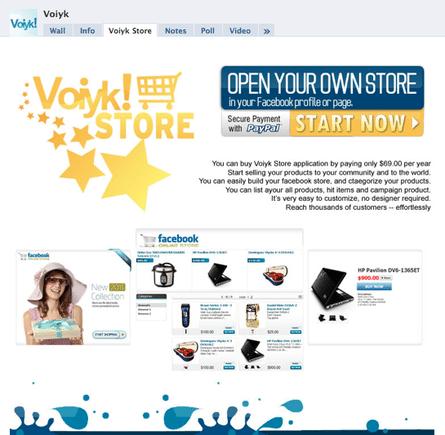 Voiyk application