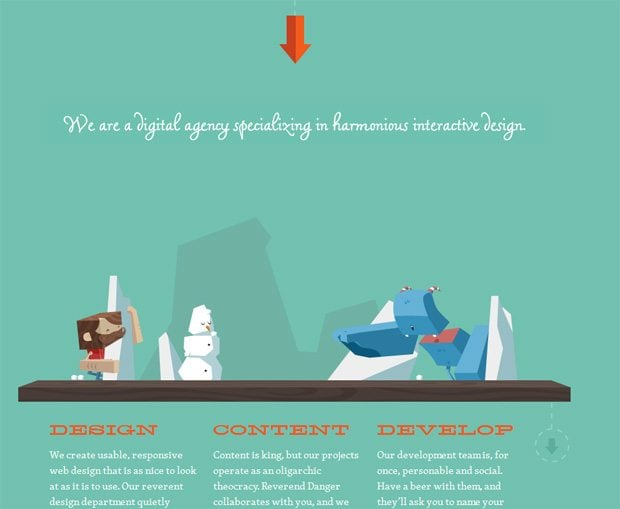 25 Catching Websites with Parallax Scrolling - MonsterPost