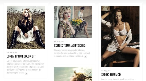 blog post design styling