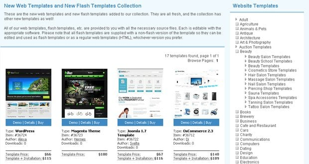 Introducing the New and Improved Filter Functions on TemplateMonster ...