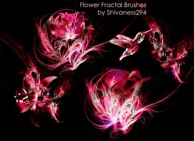 free fractal photoshop brushes