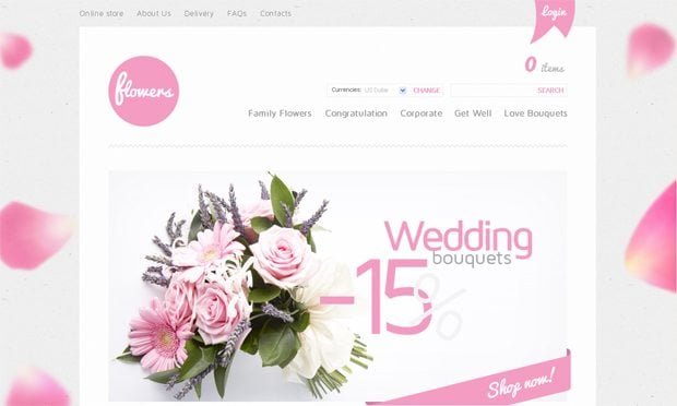 website templates with ribbon design elements monsterpost