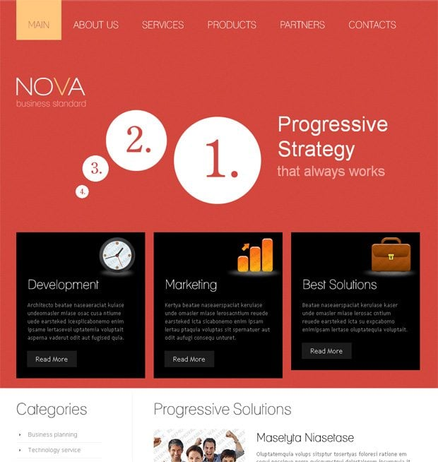 Adobe edge templates new product at templatemonster monsterpost adobe edge template maxwellsz