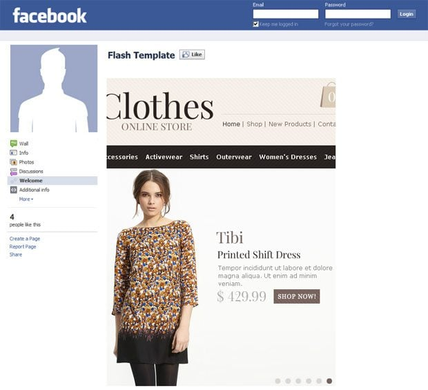 facebook-store-template-clothes