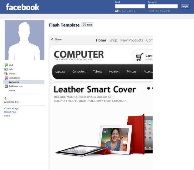 facebook-store-template