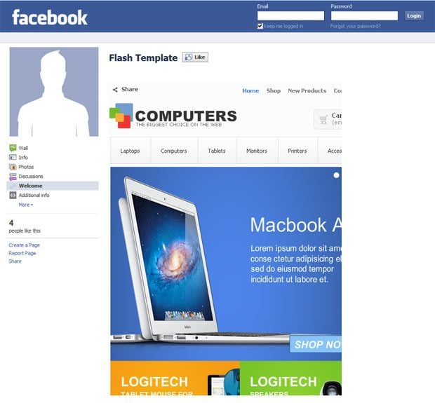 facebook-computer-store-template