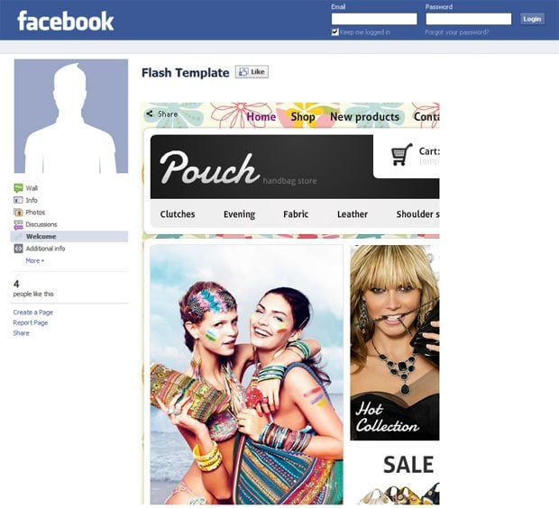 facebook-store-template