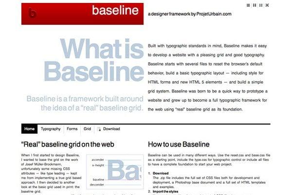 Baseline CSS