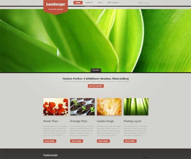 Joomla 2 5 templates top 20 fresh ones from for Exterior design templates