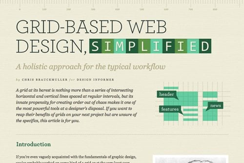 grid system trends in web design which way is it all really going