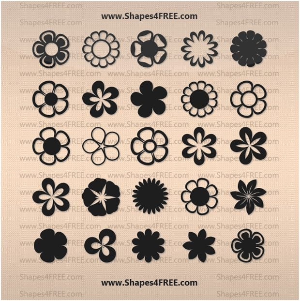 Flower Shapes