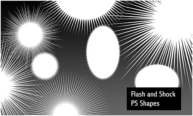 Flashes and Shocks