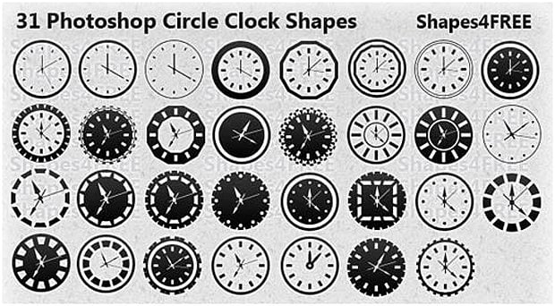 Circle Clocks