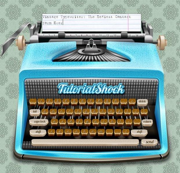 CSS3 Typewriter