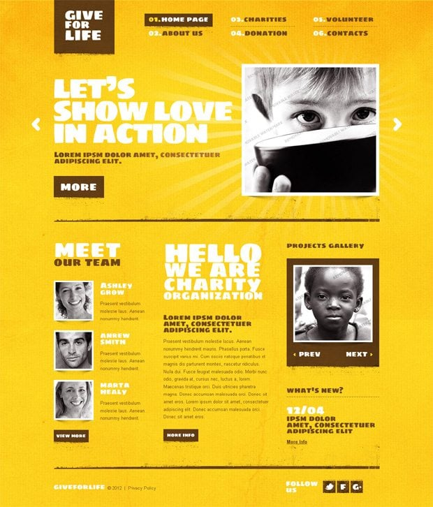 Cool Website Templates: Color Psychology In Web Design