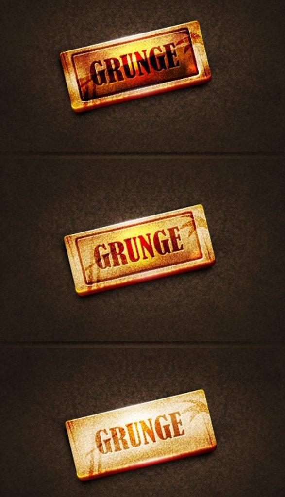 All grunge web design