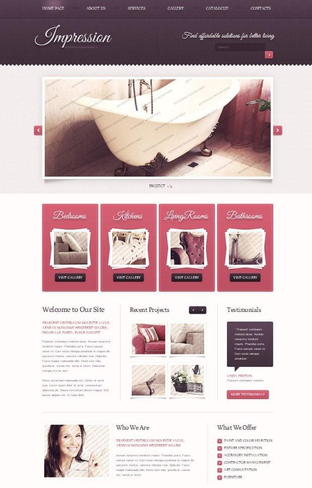 web design by gender women
